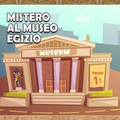 Copertina avventura Mistero al Museo Egizio